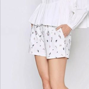 Joie Women's Anci Ditsy Pleated Floral Shorts